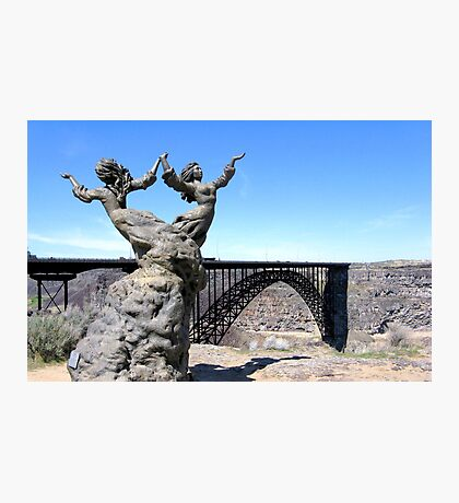 The I.B. Perrine Bridge-Twins-Twin Falls, Idaho; USA Photographic Print