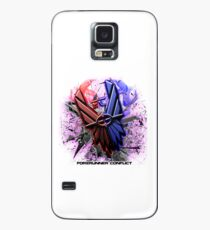 Forerunner Conflict: Revolutions Logo (w/Text) Case/Skin for Samsung Galaxy