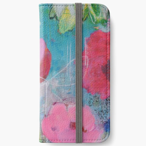 Pavlina Görner-Löw rose sky roses peonies pink turquoise flowers flowers zest for life birthday wedding garden iPhone Wallet