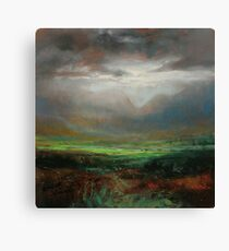 Glencoe Light Study Canvas Print