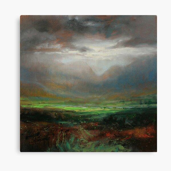 Glencoe Light Study Canvas Print