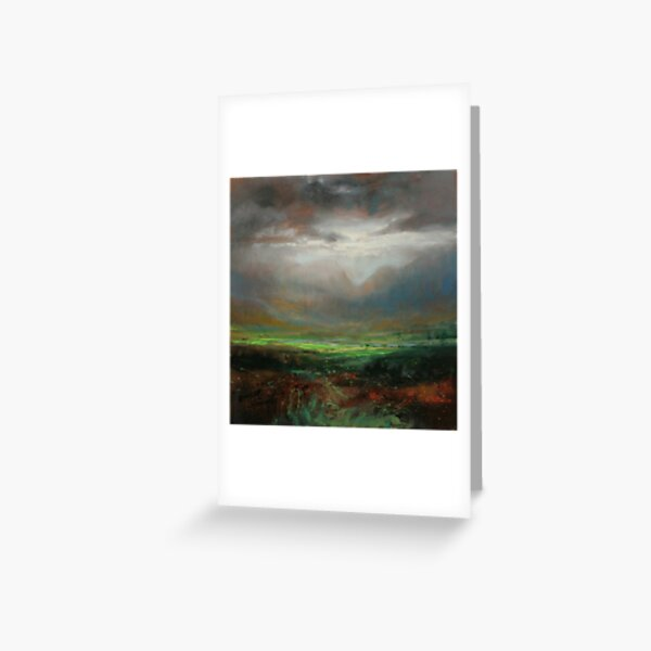 Glencoe Light Study Greeting Card