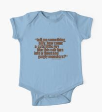 'tell me something billy...' Kids Clothes