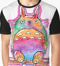 Cute Colorful Totoro! Tshirts + more! (watercolor) Jonny2may Graphic T-Shirt