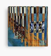 Abstract Urban Lines Canvas Print