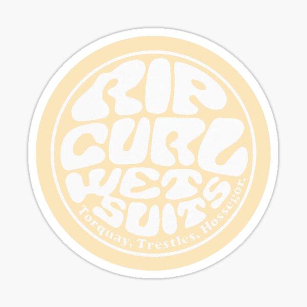 Autocollant RIp Curl: jaune clair Sticker