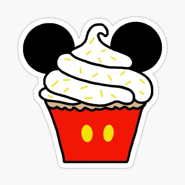 mouse cupcake Sticker
