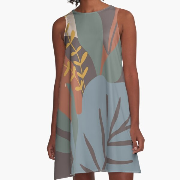 A Change of Seasons A-Line Dress