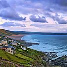 Woolacombe Bay - 1 by Smudgers Art