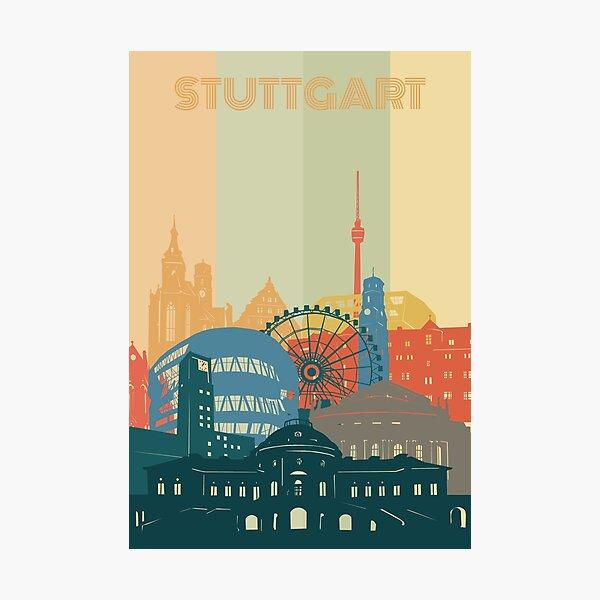 stuttgart skyline Photographic Print