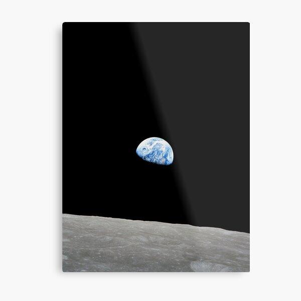 Earthrise from Apollo 8 Metal Print