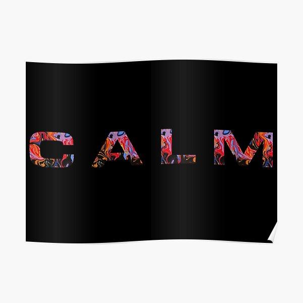 CALM 5sos  Poster