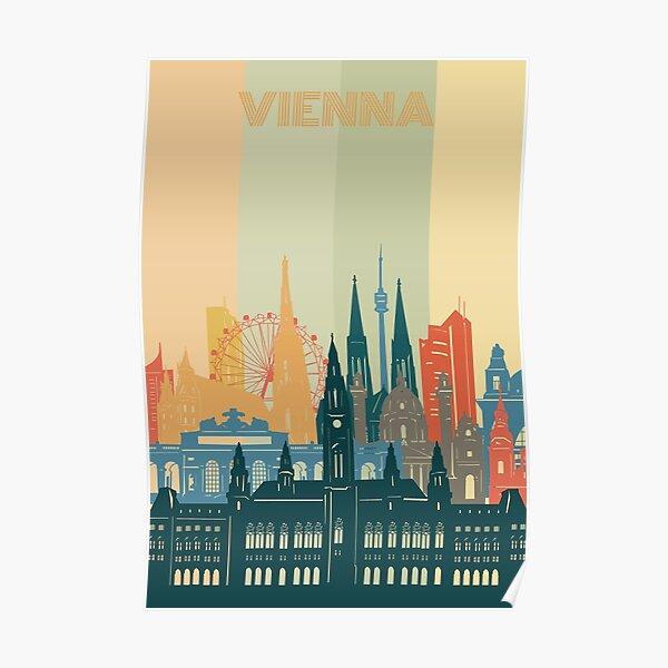 vienna skyline Poster