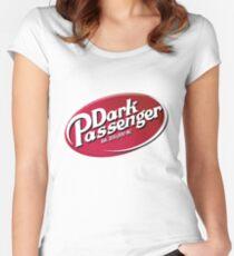 Dark Passenger Women's Fitted Scoop T-Shirt