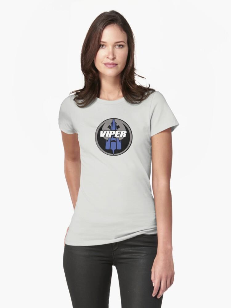 Rebel Viper Alliance  Womens T-Shirt Front
