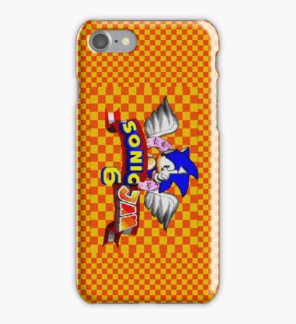 Sonic Jam 6 iPhone Case/Skin