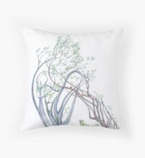 The Wistful Prince coloured Throw Pillow