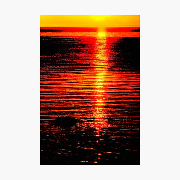 The Colours of Sunset Photographic Print
