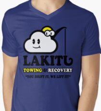 LAKITU TOWING Men's V-Neck T-Shirt