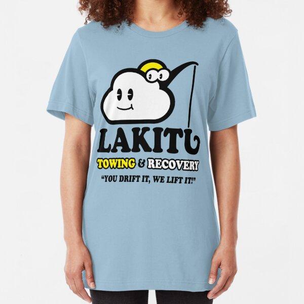 LAKITU TOWING Slim Fit T-Shirt