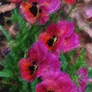 Pansy Fancy  Painting  by Don Wright