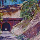 The Cheviot Rail Tunnel, (Yea) by Lynda Robinson