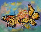 Monarch Butterflies by Michael Creese