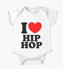 """I Heart Hip Hop"" Kids Clothes"