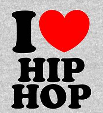 """I Heart Hip Hop"" Kids Pullover Hoodie"