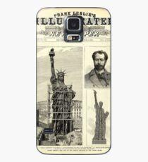 Funda/vinilo para Samsung Galaxy Statue of Liberty Construction Illustration