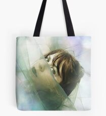 Gazing at the edge of insanity Tote Bag