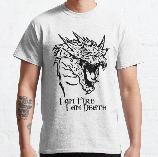 Fire and death Camiseta clásica