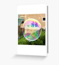 Bondi Bubble Greeting Card