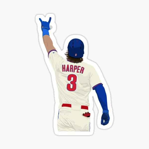 Bryce Harper 3 Sticker