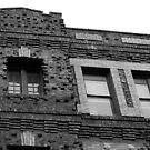 Brick Building by Josef Grosch