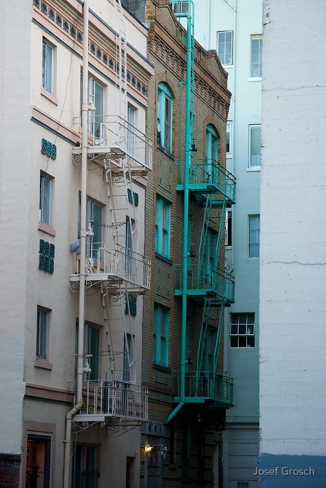 Fire Escapes by Josef Grosch