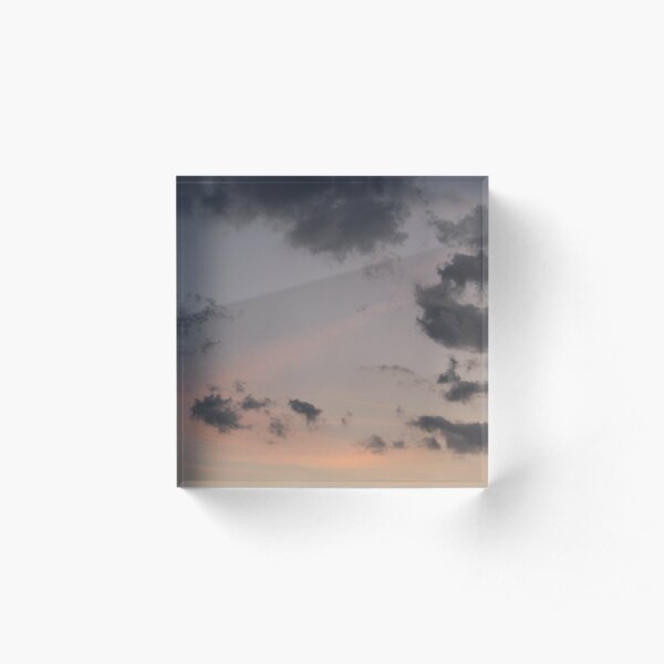 Out | sky photography Acrylic Block