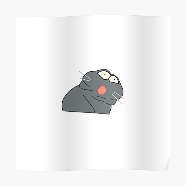 Ratatouille Meme Poster By Jolenemeharg Redbubble
