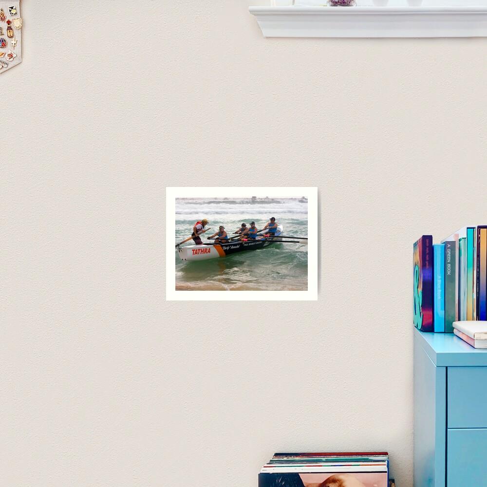 George Bass Surf Boat Race 2012 Art Print