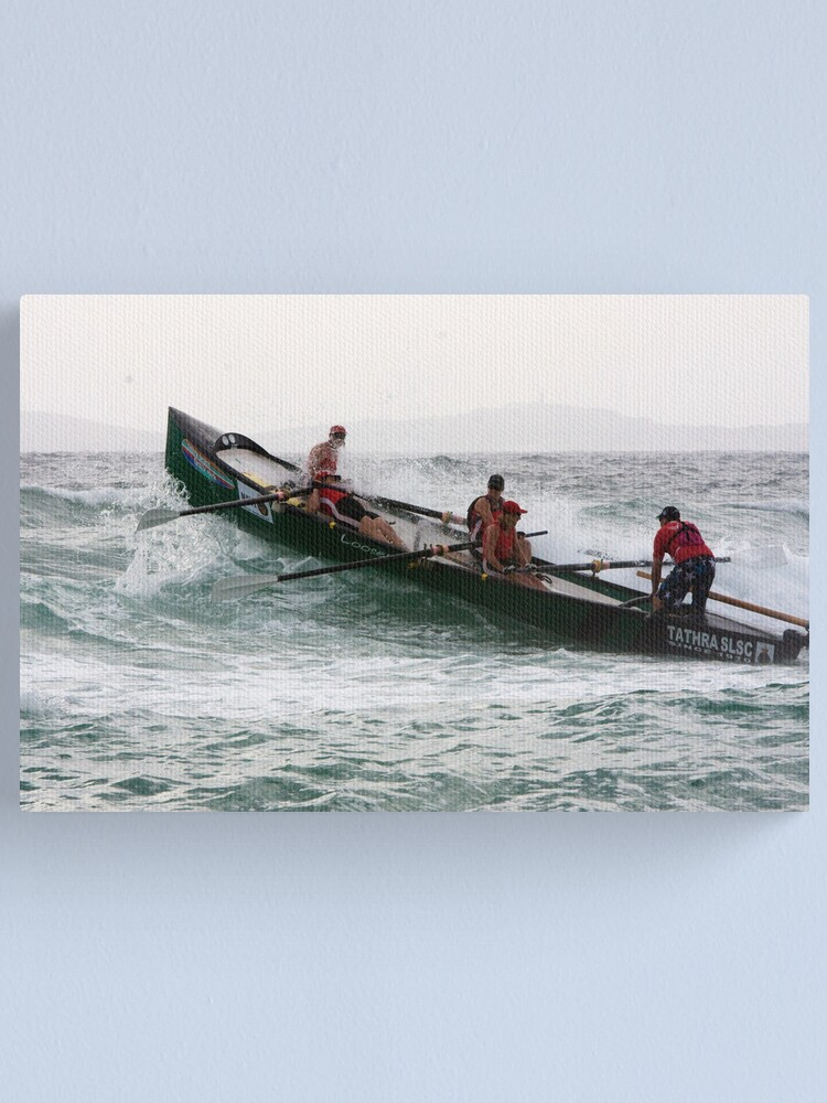 Alternate view of George Bass Surf Boat Marathon 2012 Canvas Print