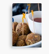 Kangaroo Meatballs Metal Print