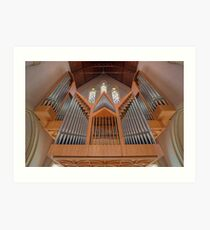 Cathedral of St Stephen Pipe Organ • Brisbane • Queensland Art Print