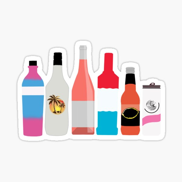 Alcohol Sticker