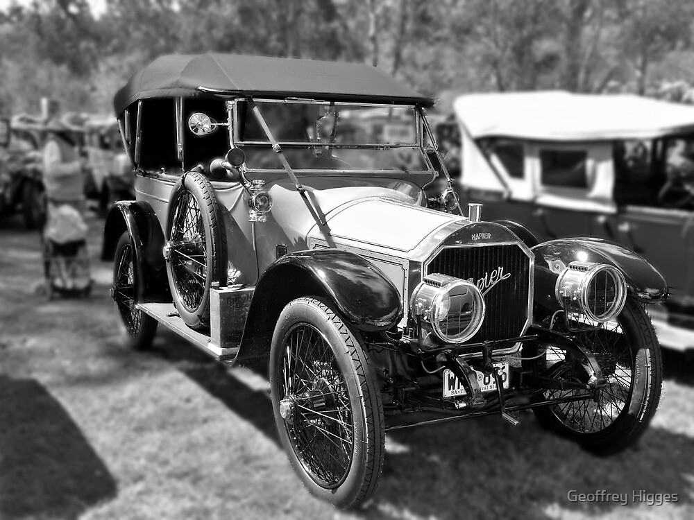 Napier 20 1913 by Geoffrey Higges