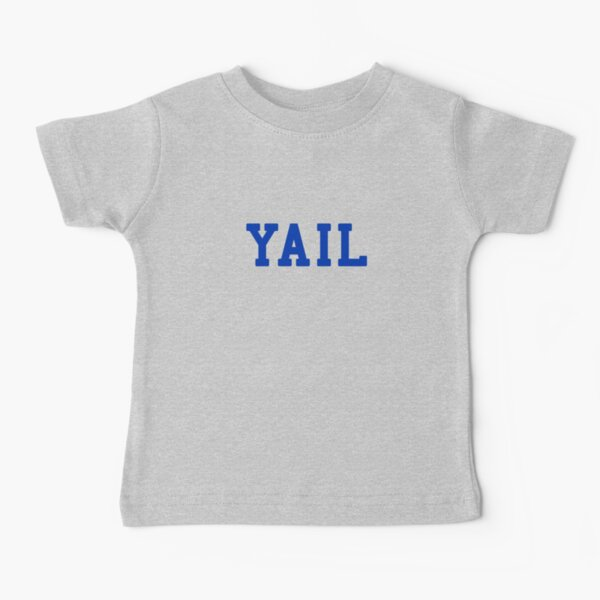 YAIL (blue letters) Baby T-Shirt