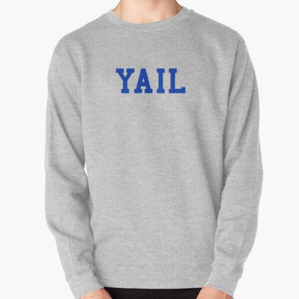 YAIL (blue letters) Pullover Sweatshirt