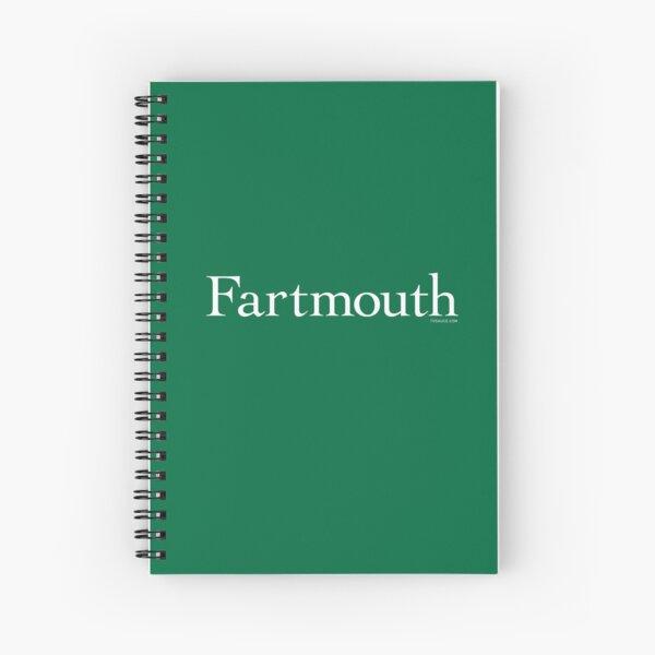 Fartmouth University Spiral Notebook