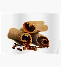 Cinnamon Sticks Poster
