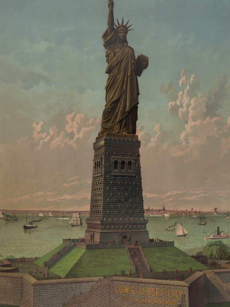 Statue of Liberty Artwork de BravuraMedia
