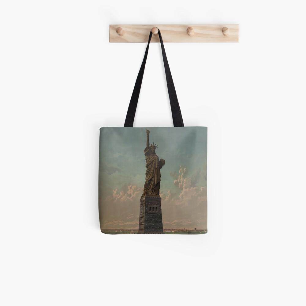 Statue of Liberty Artwork Bolsa de tela